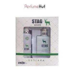 Uneek Stag-White Perfume Giftset