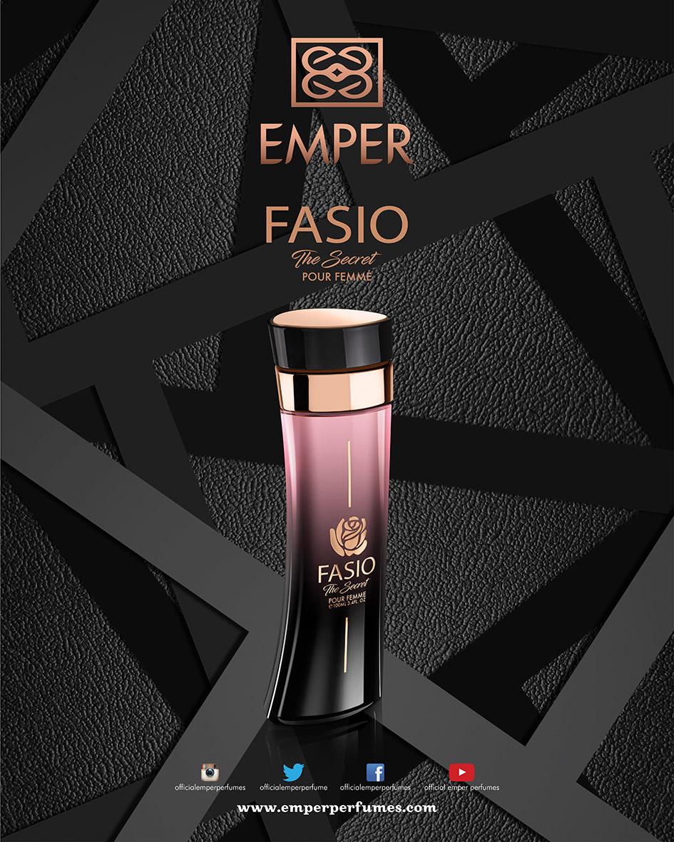 Fasio The Secret Poster Perfume Outlined