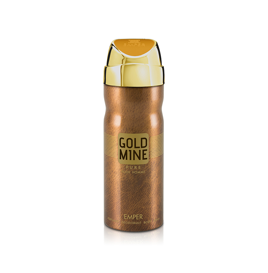 Gold Mine Perfume For Men Deo