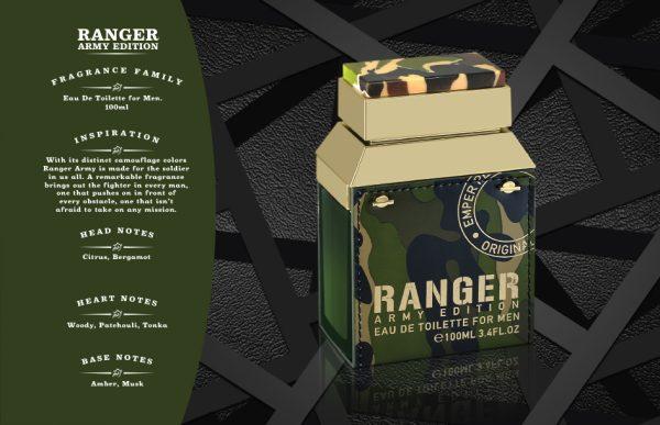 Ranger Army CATALOGUE Perfume
