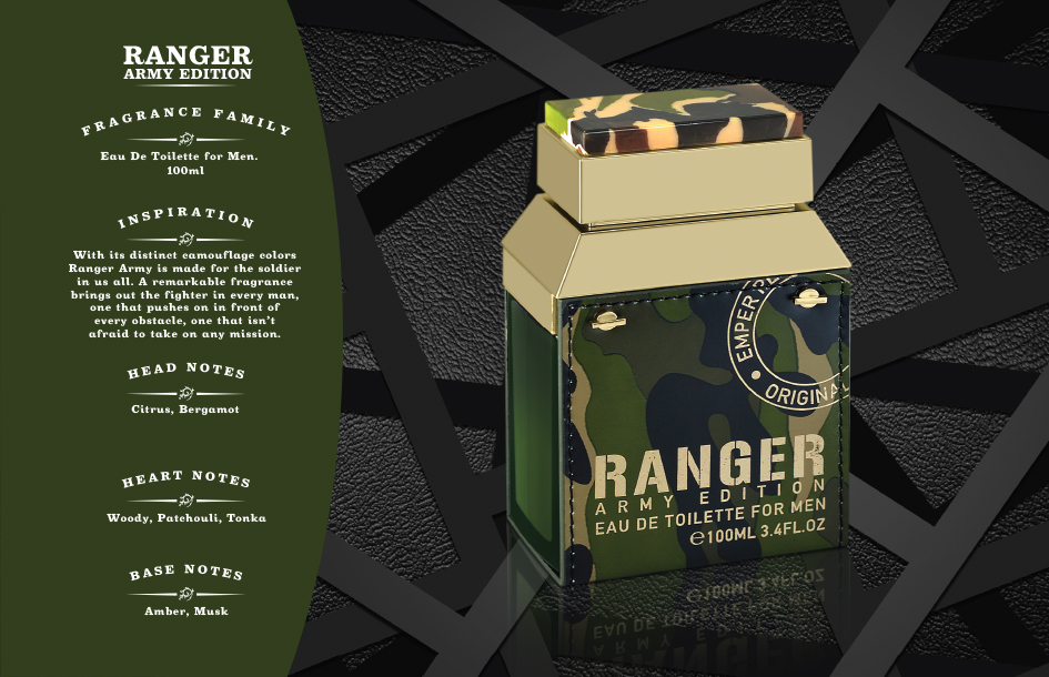 Ranger Army CATALOGUE Perfume