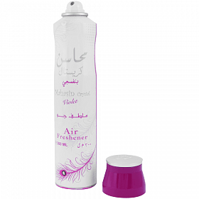 Lattafa Mahasin Crystal Violet Air Freshener 300ml