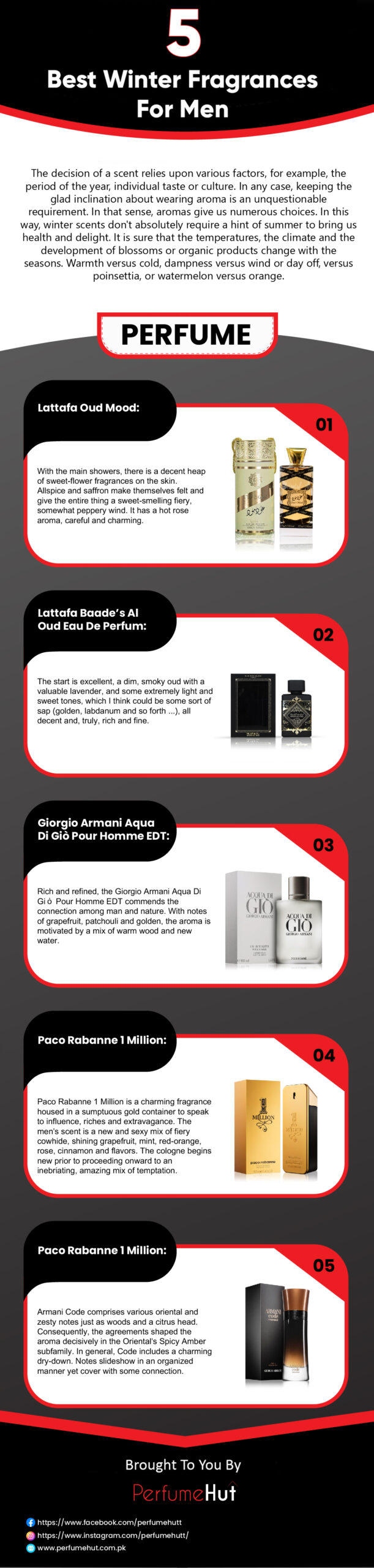 Top 5 best winter perfumes for men